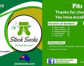 nº 21 pour Design a Hang Tag For Socks par SureshKani02