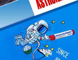 #7 for Poster design Astronaut by letindorko2