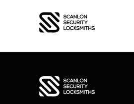 naema17 tarafından Design a logo for my company 'Scanlon Security Locksmiths' için no 71