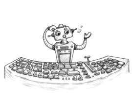 #27 untuk Robot scratching his head oleh Angelilu