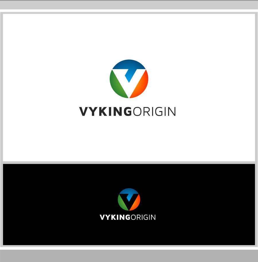 Penyertaan Peraduan #184 untuk Vyking Origin Logo Design