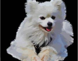 #28 для Vectorized Samoyed Dog Images - Graphic Design Project от ahmedirshada