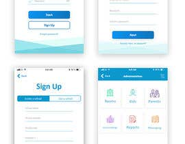 #34 cho Daycare Mobile App Design (only some screens) bởi ulezh
