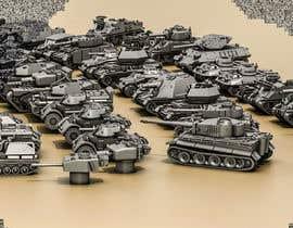 #33 для Render 3D tank files into metal texture от azeemkiyani786