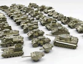 #38 для Render 3D tank files into metal texture от dennisDW