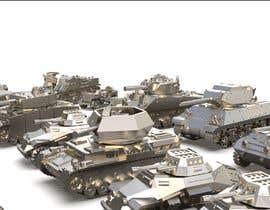 #1 для Render 3D tank files into metal texture от madone01
