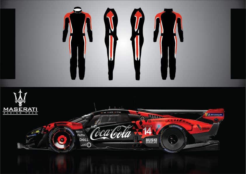Kilpailutyö #8 kilpailussa Maserati Racing Team - Corporate Identity