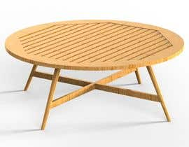 nº 19 pour Design and 3D Render a lounge table par mohamedaali77