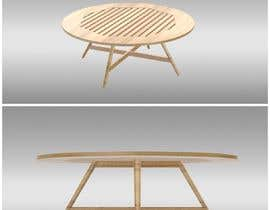 #34 for Design and 3D Render a lounge table by designwithnitish