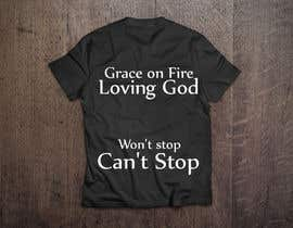 #1 for Design a T-Shirt for Grace on Fire by robertarch