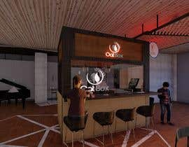 #4 for Design and render a small food space for a mall. af mohammedsarwaa