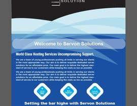 Nro 147 kilpailuun Flyer for servon solutions käyttäjältä PixelDesign24