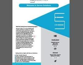 Nro 150 kilpailuun Flyer for servon solutions käyttäjältä PixelDesign24