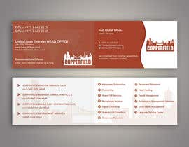 #106 for Design Creative & Trendy One Fold Business Card by risfatullah