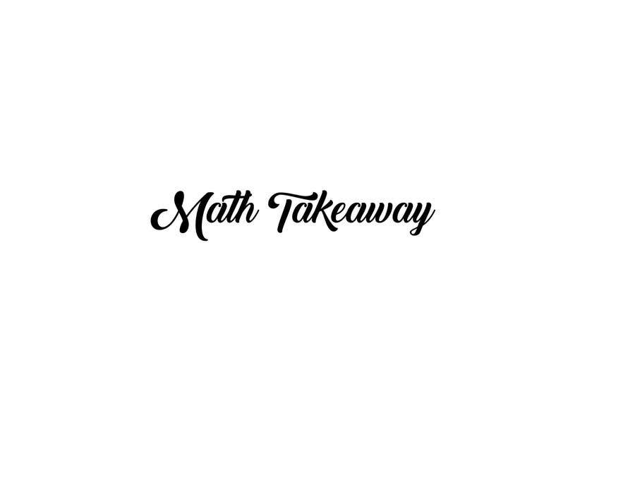 Konkurrenceindlæg #1 for I need a logo design for Math Takeaway and an app icon. Math Takeaway is a Math app that students can practise Math questions on-the-go, while travelling to and fro school, etc