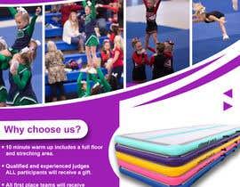 #74 for Cheerleading Event Flyer '19 af jawadali9859