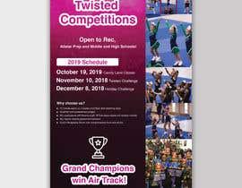 #59 for Cheerleading Event Flyer '19 af mdfaruqhossen