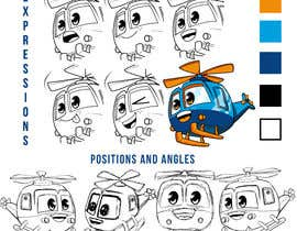 #91 for Helicopter cartoon icon af GribertJvargas