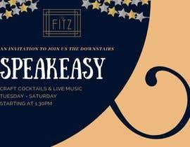#35 for Speakeasy Invitation af sorwarahmed99
