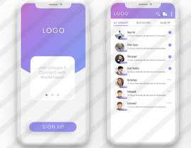 nº 10 pour Design a Index Page for a Group Messenger App par sudeshthakurdz