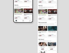 nº 13 pour Design a Index Page for a Group Messenger App par bashasibuan