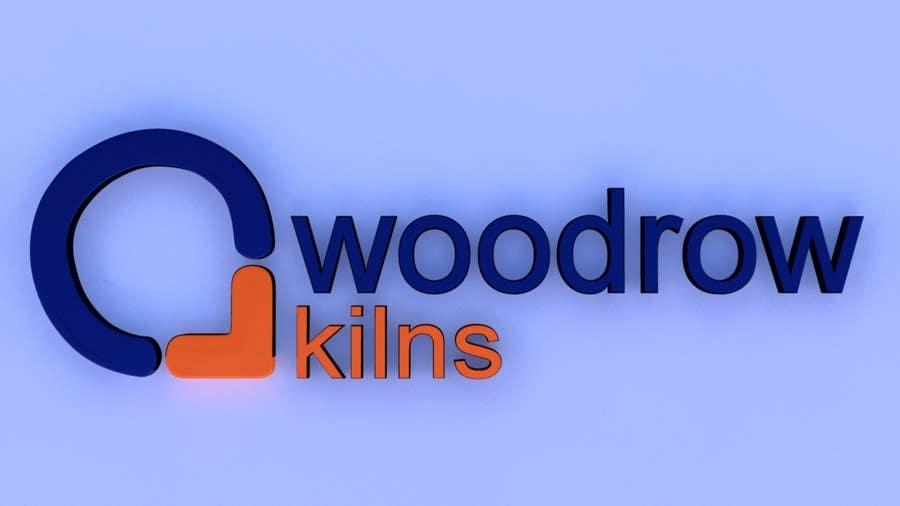 Proposition n°                                        54                                      du concours                                         Logo Design for Woodrow Kilns 3d