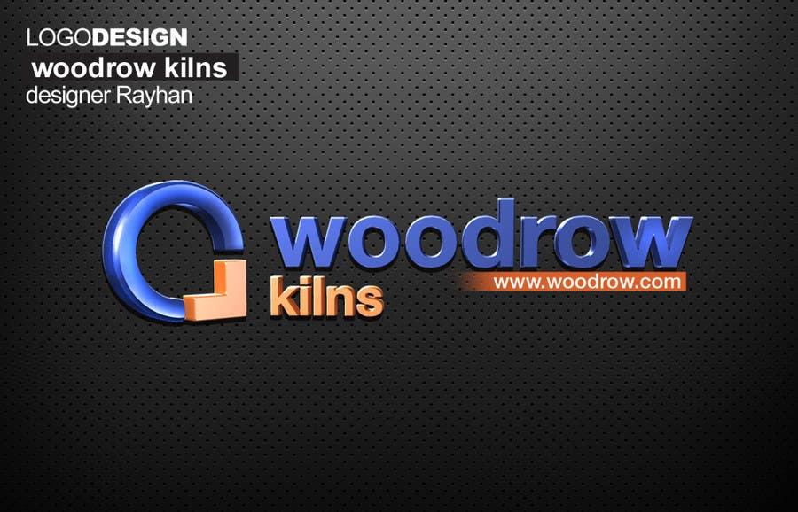 Proposition n°                                        48                                      du concours                                         Logo Design for Woodrow Kilns 3d