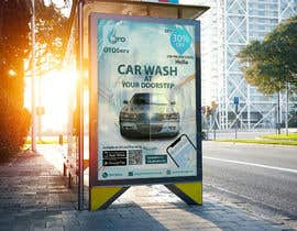 #11 for Building high professional poster for car wash mobile application by Showkothossain