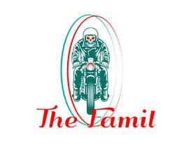 "AhamedSani tarafından A logo designed for clothing brand called ""The Family"". Is a motorcycle themed brand. için no 5"