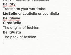 #141 untuk Creative Business Name oleh sharonmarie840