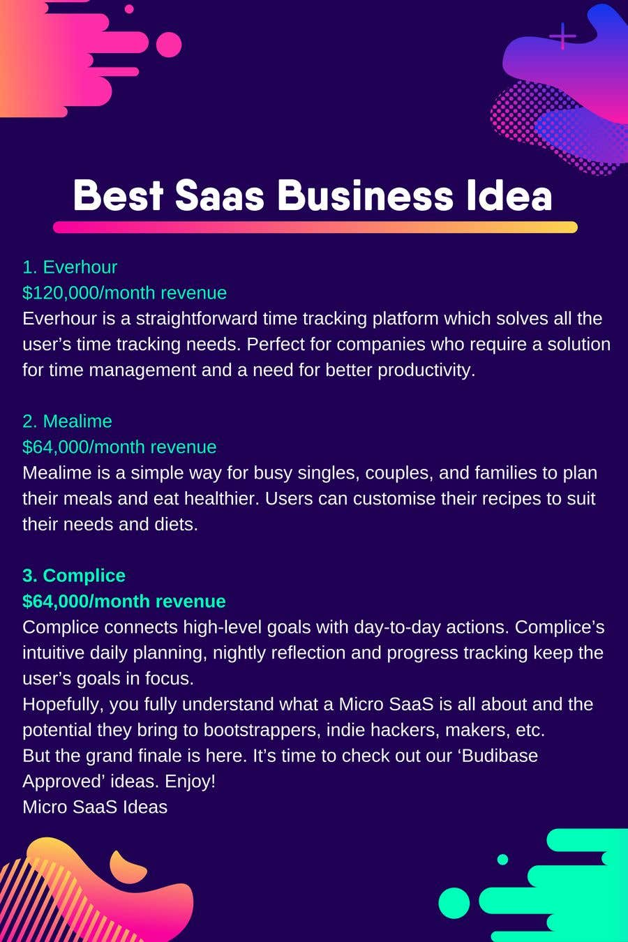 Contest Entry #14 for SaaS Company Project Idea