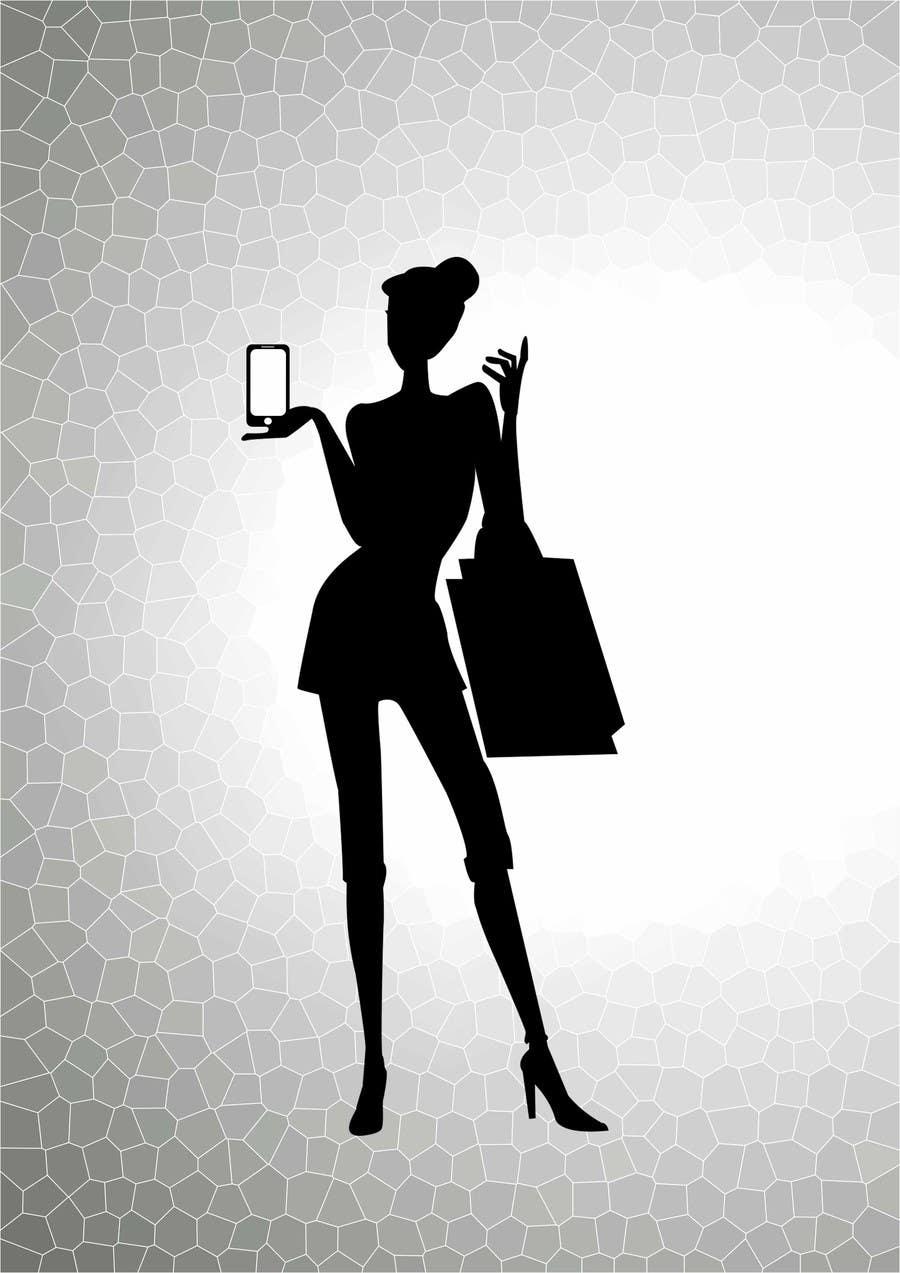 Penyertaan Peraduan #                                        35                                      untuk                                         Logo Design for iPhone bling and repair store targeted towards women