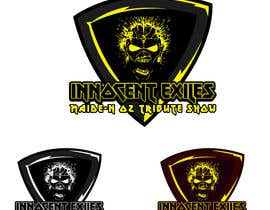 #41 for Create a logo design for our Music group Innocent Exiles - Maide-n Oz Tribute Show af layesmahfuj