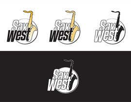 #26 for Logo Design for SaxWest band af arturkh