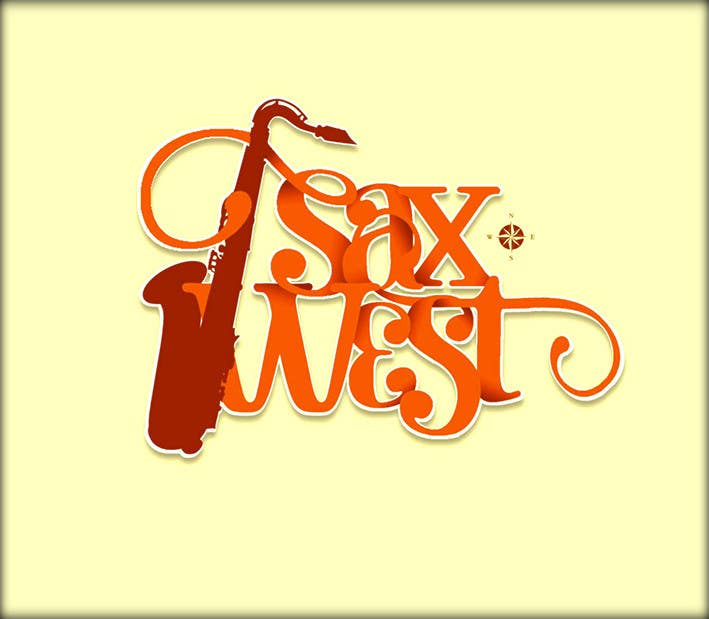 #20 for Logo Design for SaxWest band by roman230005