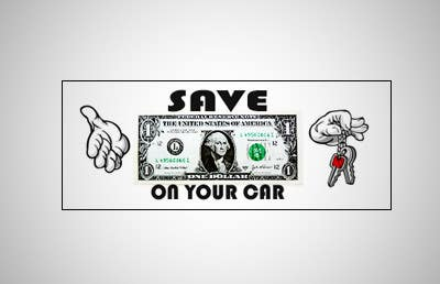 #4 for Logo Design for Save Money On Your Car by ishanl