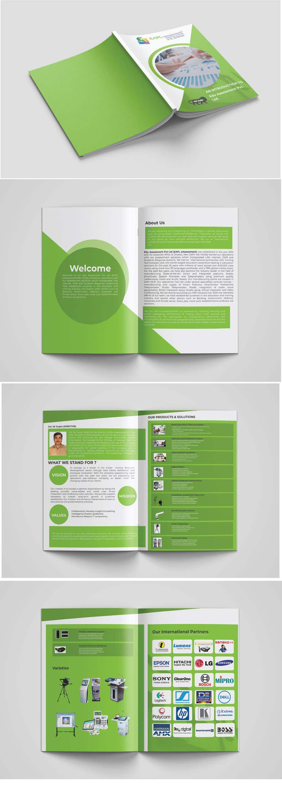 Конкурсная заявка №14 для Re-Design Brochure - Company Profile