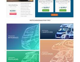 nº 87 pour Design a website for a Motorhome selling company par darioferrer