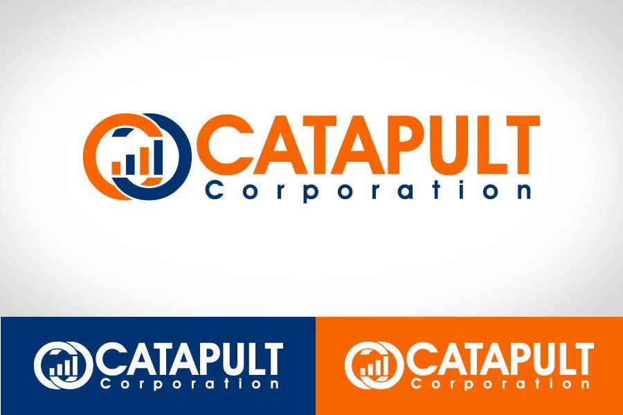 Kilpailutyö #                                        113                                      kilpailussa                                         Logo Design for 'Catapult Corporation'