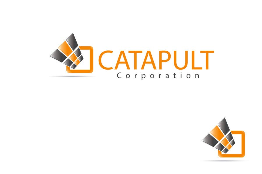 Kilpailutyö #                                        111                                      kilpailussa                                         Logo Design for 'Catapult Corporation'