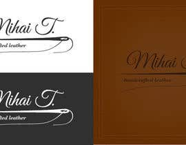 nº 71 pour Logo Design for handmade leather products business par GabrielTaudor