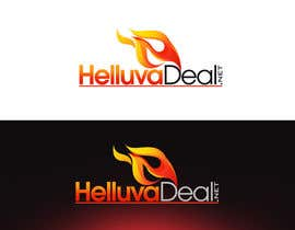 #117 para Logo Design for helluva deal por pinky