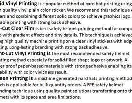 #3 para Explain a method to transfer printed ink to a curved plastic surface por madihajunaid