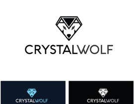 #153 untuk Design a Crystal Wolf Logo for new Crystal Inspired Business oleh Fittiani
