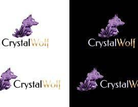 #145 untuk Design a Crystal Wolf Logo for new Crystal Inspired Business oleh stefaniamar