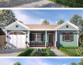 #22 cho 3D Renderings House Front Elevation bởi faisolfuady