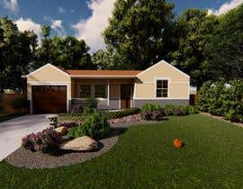 #56 cho 3D Renderings House Front Elevation bởi Chrysalism92