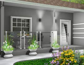 #62 cho 3D Renderings House Front Elevation bởi Programmming3D