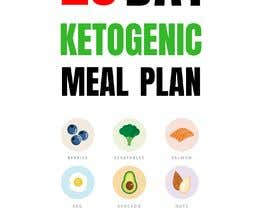 """#89 untuk create an ebook cover design for my """"28 Day Ketogenic Meal Plan"""" oleh MNeshath"""