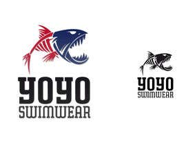#100 para Logo Design for expensive swimming trunks por alfonself2012